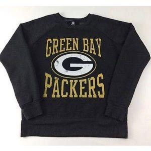 NFL Junk Food Green Bay Packers Sweatshirt